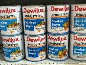 Dewilux Endüstriyel Sonkat Boya Demir Gri(Ral7011) 0.75 Lt.