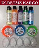Slime Seti (5 Sıvı Yapıştırıcı, 5 Boraks, 3+2...