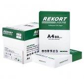 Mopak Rekort A4 Fotokopi Kağıdı 80 Gr. 5x500 (1 Koli)