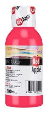 Red Apple Akrilik Boya Pembe 100 Gr. Ra110 20