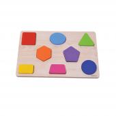 Eğitici Geometrik Şekilli Oyun