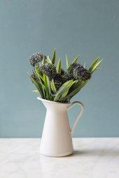 2li Allium Mor Yapay Çiçek-2