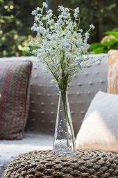 2li Beyaz Hezeran Yapay Çiçek