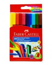 Faber Castell 10 Renk Eğlenceli Keçeli Kalem