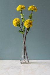 2li Voluptatem Sarı Yapay Çiçek-2