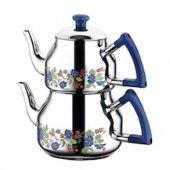 özkent K 314 Marmaris Desenli Mini Çaydanlık