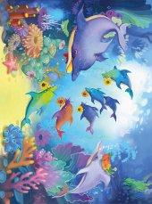 EUROSER Deniz Canlıları Desenli Çocuk Halısı-2