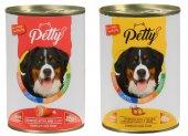 Petty 24 Adet Karışık Köpek Konservesi 24 Adet*415 Gr