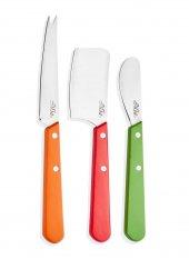 The Mia Cutt 0018 Peynir Bıçağı 3 Lü Set