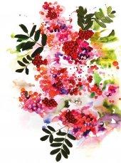 EUROSER Sanatsal Çiçekler Desenli Çocuk Halısı-2