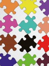 EUROSER Renkli Puzzle1 Desenli Çocuk Halısı-2