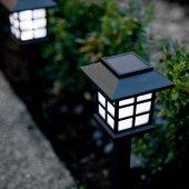 Güneş Enerjili Park Bahçe Dış Aydınlatma Lambaları