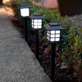 Güneş Enerjili Park Bahçe Dış Aydınlatma Lambaları-3