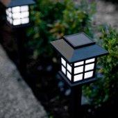 Güneş Enerjili Park Bahçe Dış Aydınlatma Lambaları-7