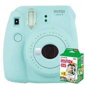 Instax Mini 9 Makine + 20 'li Film+ Askı +pil...