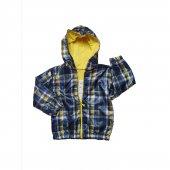 Erkek Bebek Çizgili Modelli 1 3 Yaş Yağmurluk Lacivert C72734 4