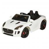 Oyuncak Akülü Araba Jaguar Beyaz