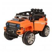 Oyuncak Akülü Safari Jeep Turuncu