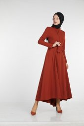 Sitare Önü Kravatlı Elbise 19Y2578-2