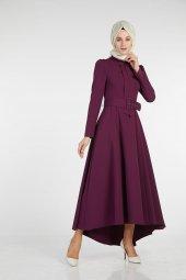Sitare Önü Kravatlı Elbise 19Y2578-3