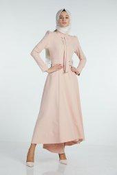 Sitare Önü Kravatlı Elbise 19Y2578-4