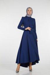 Sitare Önü Kravatlı Elbise 19Y2578-5