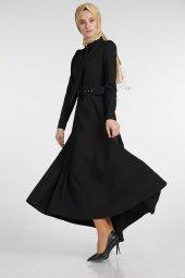 Sitare Önü Kravatlı Elbise 19Y2578-8