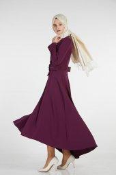 Sitare Önü Kravatlı Elbise 19Y2578-10