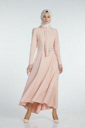 Sitare Önü Kravatlı Elbise 19Y2578-11