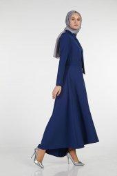 Sitare Önü Kravatlı Elbise 19Y2578-12