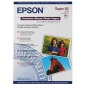 Epson A3+ 250gram 20li Premium Glossy Fotoğraf Kağıdı S041316