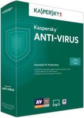 Kaspersky Anti Virus Virüs Programı 2020 1 Pc 1...