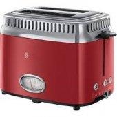Russel Hobbs 21680 56 Rh Retro Ribbon Ekmek Kızartma Makinesi Kırmızı