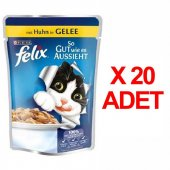 Purına Felix Tavuklu Kedi Maması 100gr X 20...