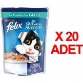 Purına Felix Ton Balıklı Kedi Maması 100 Gr X...