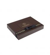 Single Maxi Fıstıklı Kalp Çikolata Gold Kahverengi