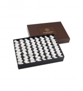 Single Maxi Duble Fıstıklı Çifte Kavrulmuş Lokum Kahverengi