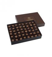 Single Maxi Sütlü Çikolata Kaplı Fıstıklı Lokum Kahverengi