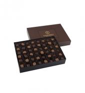 Single Maxi Mix Çikolata Kaplı Fıstıklı Lokum Kahverengi