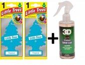 Little Trees Tropikal 2 Ad + 3d New Car 236 Ml X 1 Ad Oto Kokusu