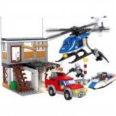 Lego Bricks 476 Parça Polis Seti