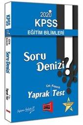 2020 KPSS Eğitim Bilimleri Soru Denizi Çek Kopartlı Yaprak Test Yargı Yayınları