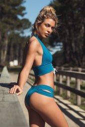 Angelsin Mavi Bikini Takım-2