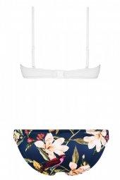 Angelsin Üstü Beyaz Altı Renkli Özel Tasarım Bikini-2