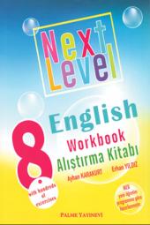 8. Sınıf Next Level English Workbook Alıştırma Kitabı Palme Kitabevi