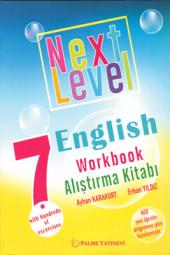 7. Sınıf Next Level English Workbook Alıştırma Kitabı Palme Kitabevi