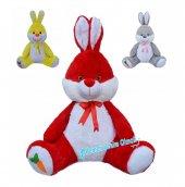 Oyuncak Tavşan 80 Cm Sevimli Büyük Boy Peluş...