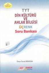 TYT Din Kültürü ve Ahlak Bilgisi Üçrenk Soru Bankası Esen Yayınları