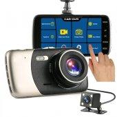Novatek T90 4 İnç Ips Dokunmatik Ekran Türkçe Full Hd Araç Kamerası Geri Görüş Kamerası