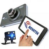 T95 Novatek 64GB Hafıza Kart Destekli 14MP Dokunmatik Araç Kamerası Geri Görüş Kamerası